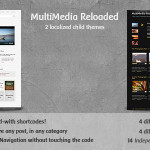 Multimedia Reloaded: Best WordPress Video/Photo Theme