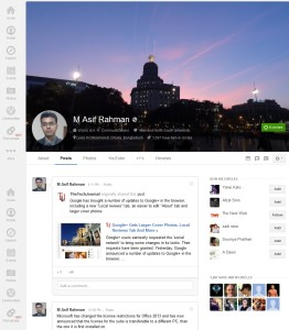 Google+ Cover Photos Updated With Super Big Size Image  [Size & Dimension Details]