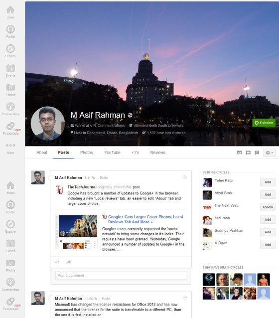 My Google+ Page -Better-2013-03-07