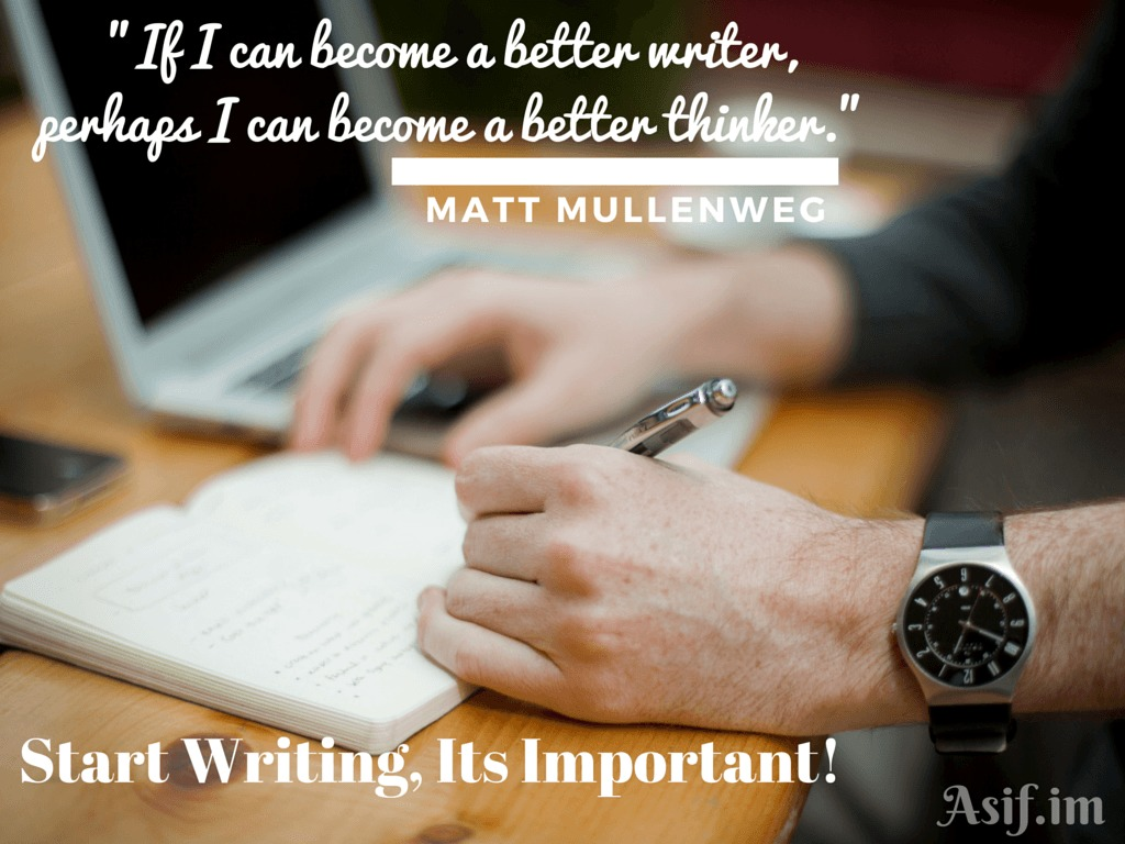 Start Writing-Matt-Asif.im