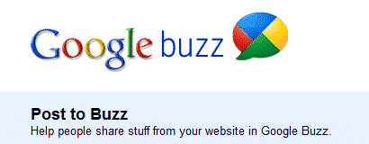 Use Official Google Buzz Share Button With WordPress 16
