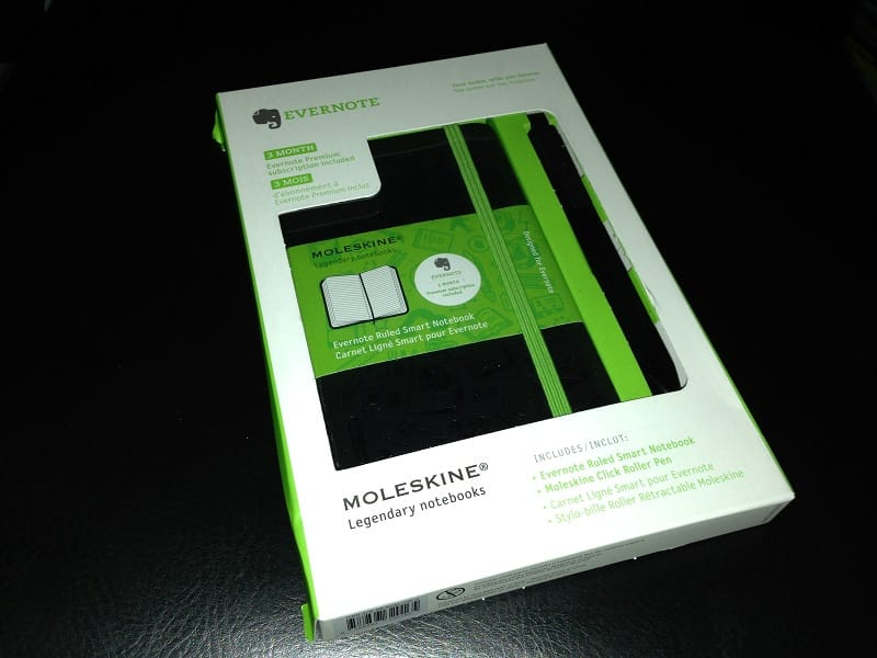 Moleskine Notebook For Evernote