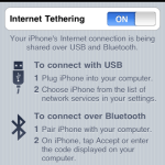 Connect Your Computer With Internet Via iPhone 2G,3G,4G & iPad